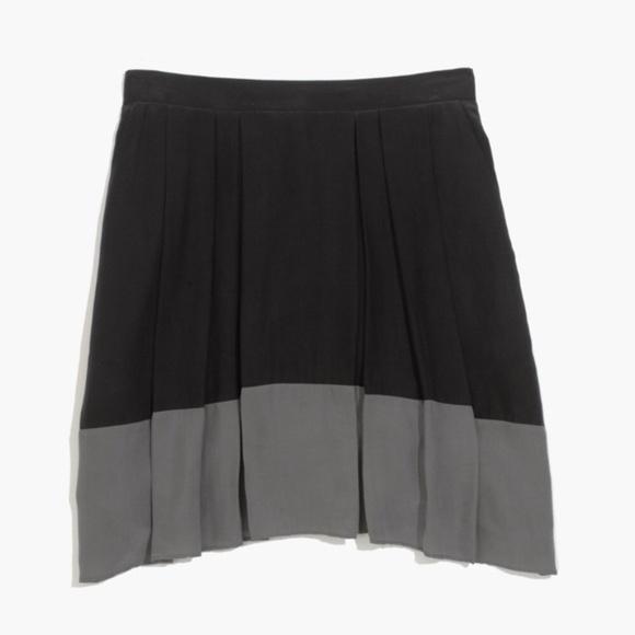 Madewell Dresses & Skirts - Madewell Premiere Colorblock Skirt S